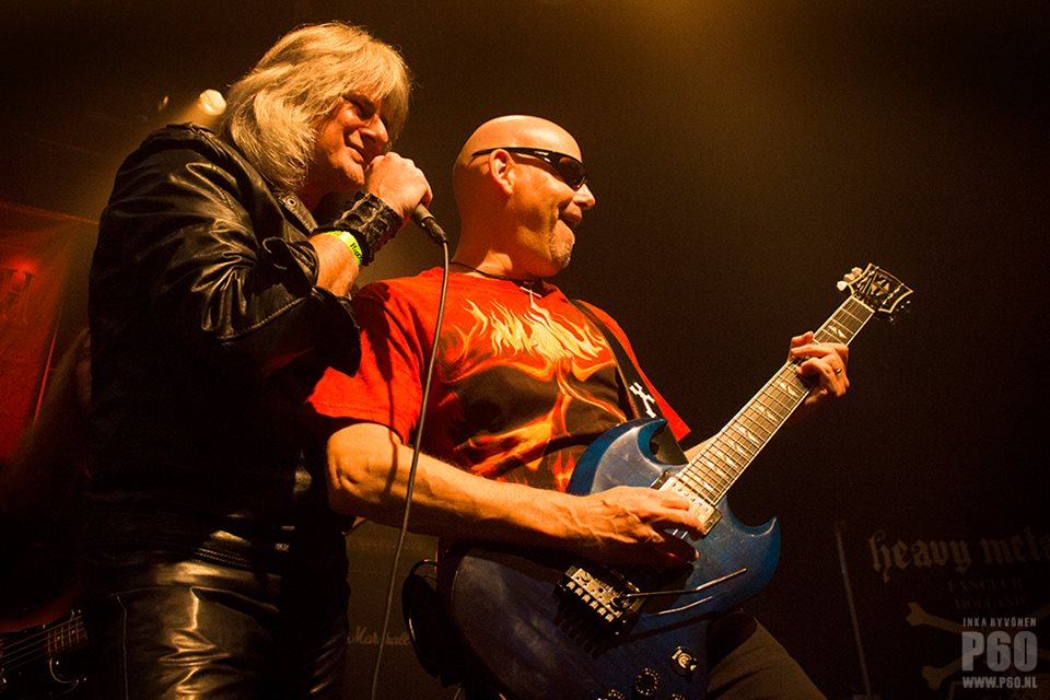 Paul Taylor & Phil Denton at Heavy Metal Maniacs 2014