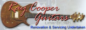Ray Cooper Guitars